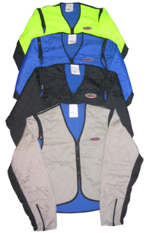 HYPERKEWL Evaporative Cooling Sport Vests w/Sleeves