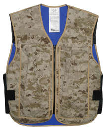 Evaporative & Phase Change Cooling Military Vest