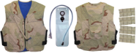 Military Vests w/Built-In Hydration