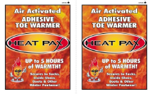 HEAT PAX™ Adhesive Toe Warmers
