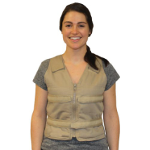 Body Cooling Vest , zipper front