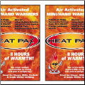 HEAT PAX™ Mini/Hand Warmers (SKU: 5550)