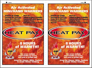 HEAT PAX™ Mini/Hand Warmers