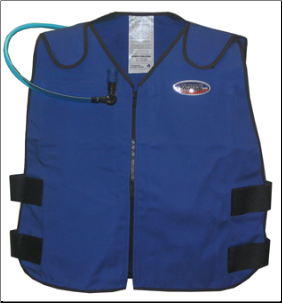 Cooling Vests w/Built-In Hydration System  6627