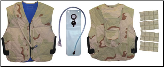 Military Vest w/ Personal Hydration System