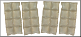 Phase Change Cooling Military Vest Inserts - Extra Set