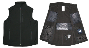 IonGear™ Battery Powered Electric Heating Vest